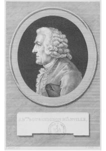 Portrait de Jean-Baptiste d'Anville par Pierre Simon Benjamin Duvivier