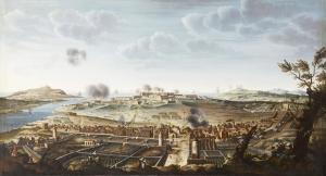 Prise de Port-Mahon sur l'île de Minorque, le 29 juin 1756