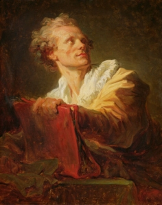 Jacques-André Naigeon by Fragonard