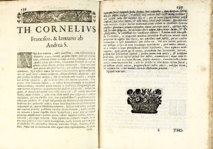 Tommaso Cornelio, Progymnasmata physica